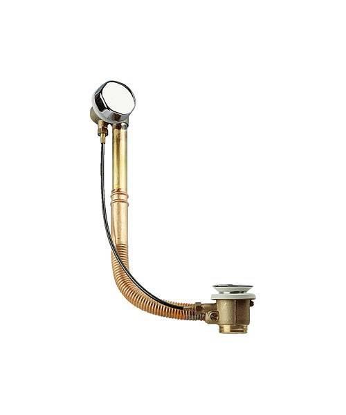Автоматический слив-перелив REMER (хромированная латунь с медной трубкой) RR 96