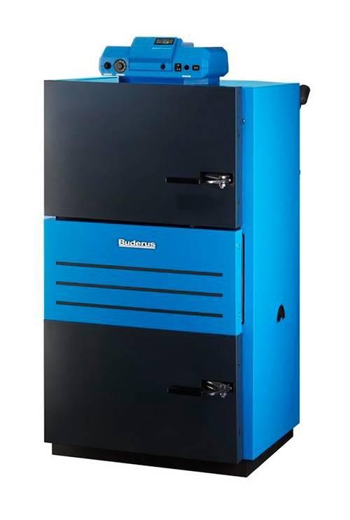 Дровяной котел Buderus LOGANO S121-2 24 (25 кВт), автоматический