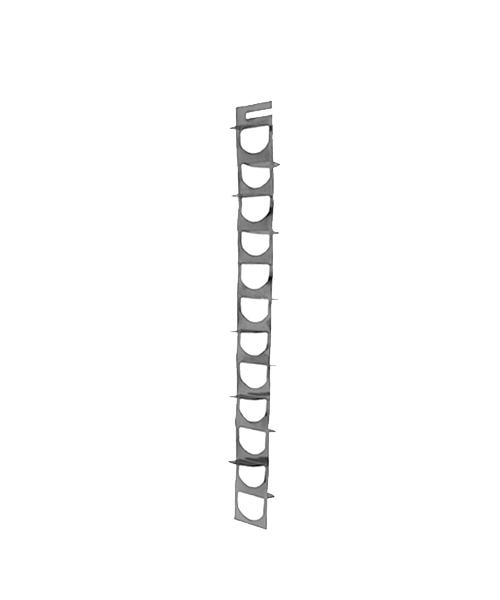 Дефлектор (турбулизатор теплообменника) Turbo-21 (280х40)