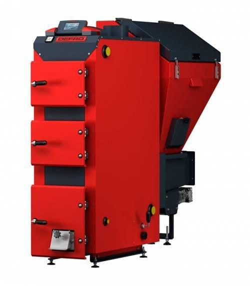 Угольный котел Defro Akm 22 (22 кВт), автоматический