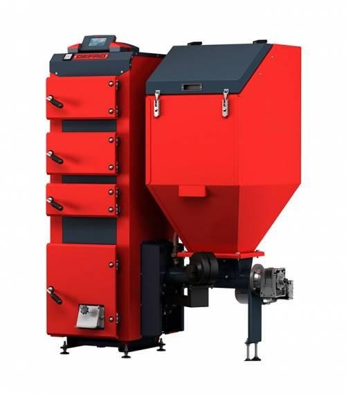Угольный котел Defro Komfort Eko Duo 15 (15 кВт), автоматический