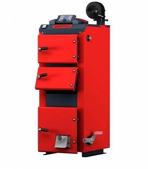 Угольный котел Defro Optima Komfort Plus 25 (25 кВт), полуавтоматический