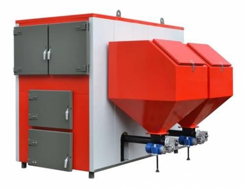 Угольный котел Heiztechnik Q Max Eko 150KW (150 кВт), автоматический