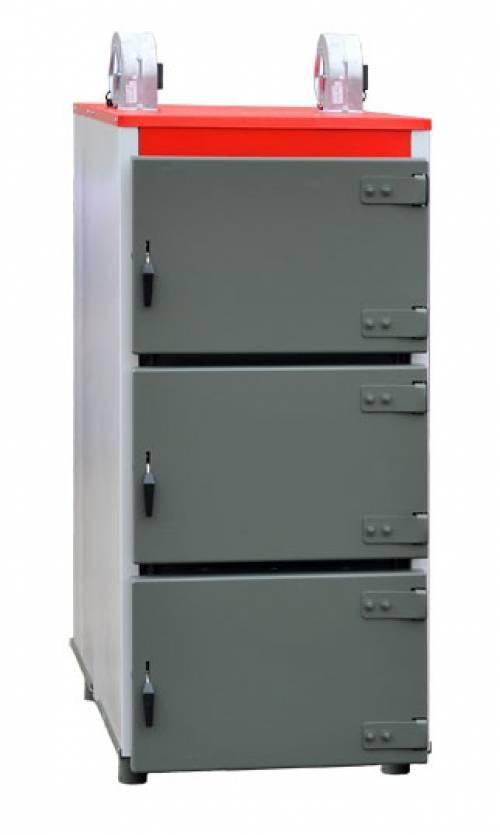 Угольный котел Heiztechnik Q Max Plus 150KW (150 кВт), полуавтоматический