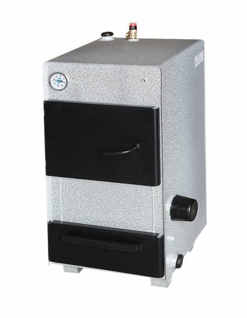 Комбинированный котел КАРАКАН 12-ТЭ (тв. топливо+электричество) 12 кВт