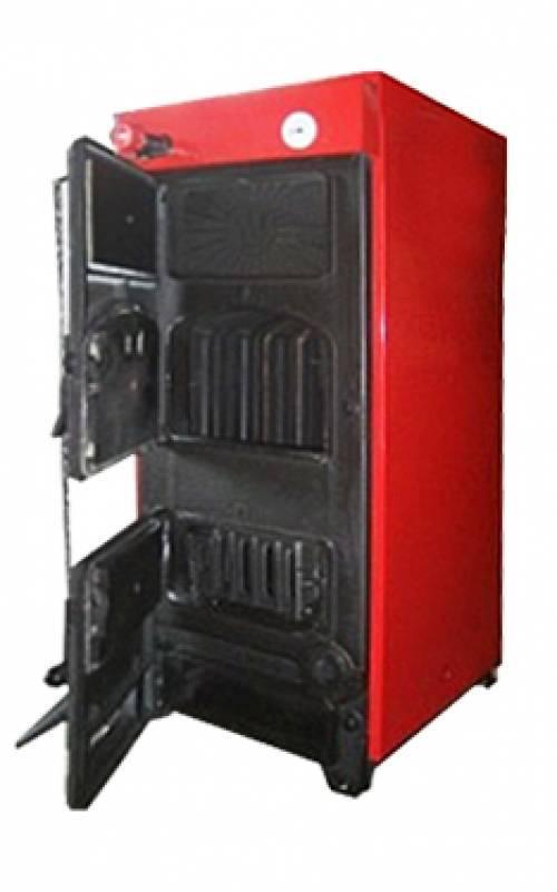 Котел на угле и дровах КЧМ-5К-03М (70 кВт), классический