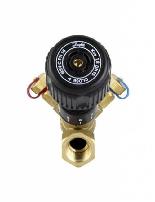 Клапан балансировочный DANFOSS Ду-15 MSV-C (с измерительными ниппелями) 003Z3020