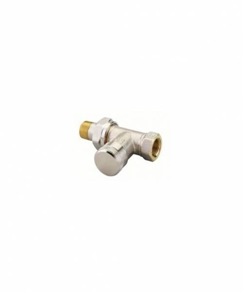 Клапан запорный Danfoss RLV прямой DN15
