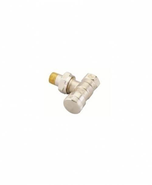 Клапан запорный Danfoss RLV угловой DN15