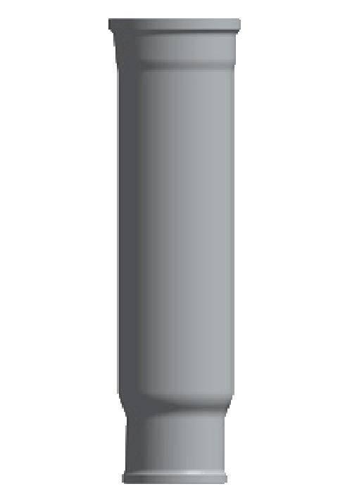 Компенсационый патрубок D50 (учетв. длины)