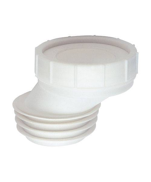 Манжета эксцентрическая пластиковая REMER для унитаза RR 689RI