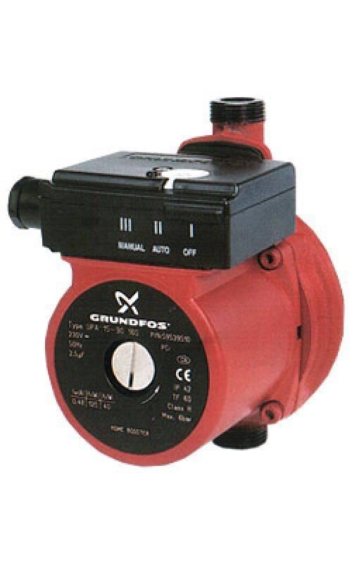 Миниатюрный насос для повышения давления GRUNDFOS UPA 15-90 1*230В