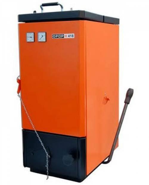 Котел на угле и дровах OPOP H 424-24 (24 кВт)
