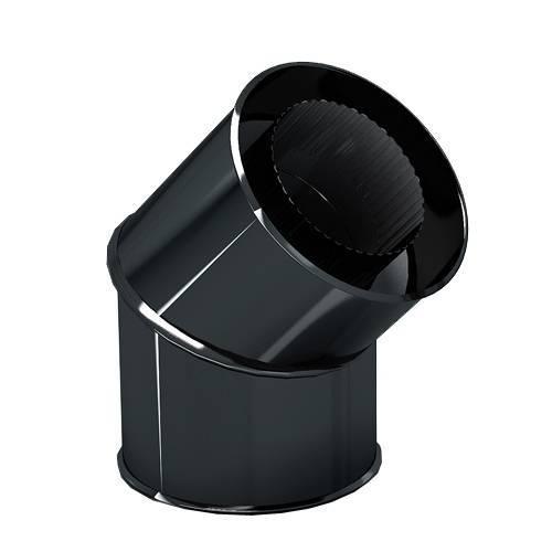 Сэндвич-отвод эмалированный 135 гр. 0,8мм-0,8мм d 120*200 мм