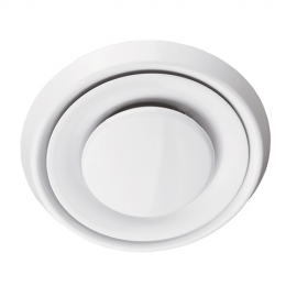 Анемостат А 200ВР,АБС (A 200VR.ABS) белый 1244