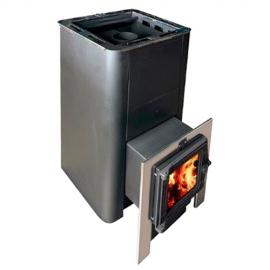 Печь банная Олимп 14-18 (б/парогенератора, чуг.дверь б/стекла)