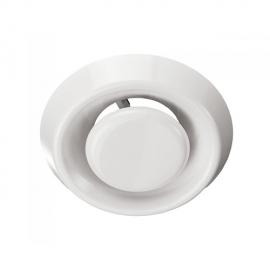 Анемостат А 80ВР,АБС (A 80VR.ABS) белый 8288
