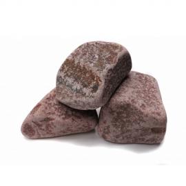 """Камни """"Малиновый кварцит"""" 20 кг обвалованный, упак"""
