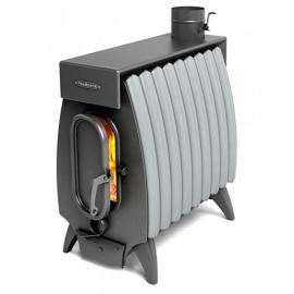 Печь Огонь-Батарея 9 антрацит серый металлик