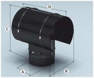 Зонт эмалир.К 0,8мм d 120мм ПП