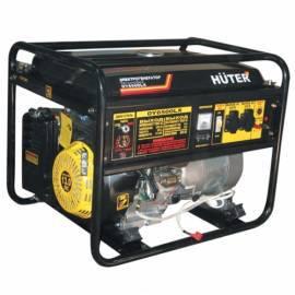 Бензогенератор Huter DY6500LХ с электростартером (5000 Вт)