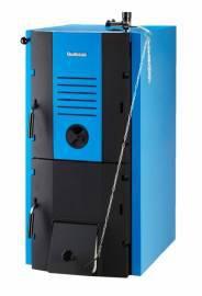 Котел на угле и дровах Buderus LOGANO G221-20D (20 кВт), классический