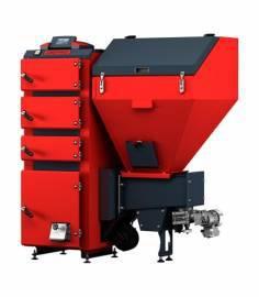 Угольный котел Defro AKM DUO 16 (16 кВт), автоматический