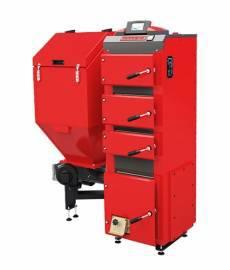 Угольный котел Defro Duo Uni 35 (35 кВт), автоматический