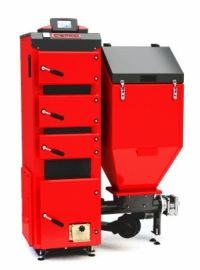 Угольный котел Defro Duo 50 (50 кВт), автоматический