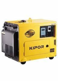 Дизельный электрогенератор KIPOR KDE6700TA (ATS) (5,0 кВт)