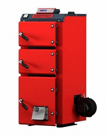 Угольный котел Defro Econo Plus 18 (18 кВт), полуавтоматический