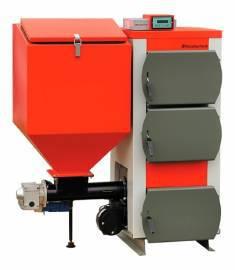 Пеллетный котел Heiztechnik Q Bio 15 KW (15 кВт), автоматический