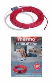Нагревательный кабель Thermocable SVK-20 8 м (комплект без регулятора)