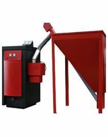 Пеллетный котел Opop WOODY 30 (30 кВт), автоматический