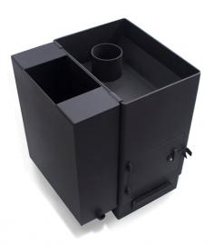 """Печь банная """"Копеечка"""" сталь 6 мм."""