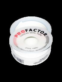 Тефлоновая лента (ФУМ) ProFactor FE 530 (ширина 19 мм, длина 15 мм, толщина 0,25 мм)