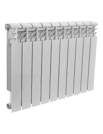 Алюминиевый радиатор Rommer Profi AL500-80-80-080 - 10 секций