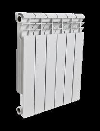 Биметаллический радиатор Rommer Profi BI350-80-80-130 - 6 секций