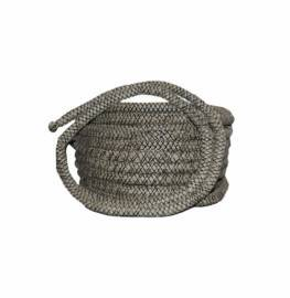 Шнур из керамического волокна клейкий 10 мм х 2 мм