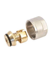 Фитинг компрессионный 16x3/4 для труб PEX
