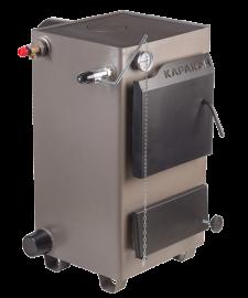 Комбинированный котел КАРАКАН 10-ТПЭ (тв. топливо+электричество, 1 варочная плита) 10 кВт