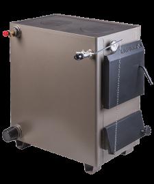 Комбинированный котел КАРАКАН 15-ТПЭ (тв. топливо+электричество, 2 варочных плиты) 15 кВт