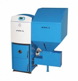 Пеллетный котел ZOTA Pellet-40 (40 кВт), автоматический