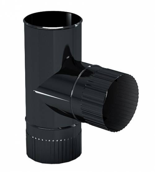 Тройник эмалированный 90 гр. 0,8мм d-150