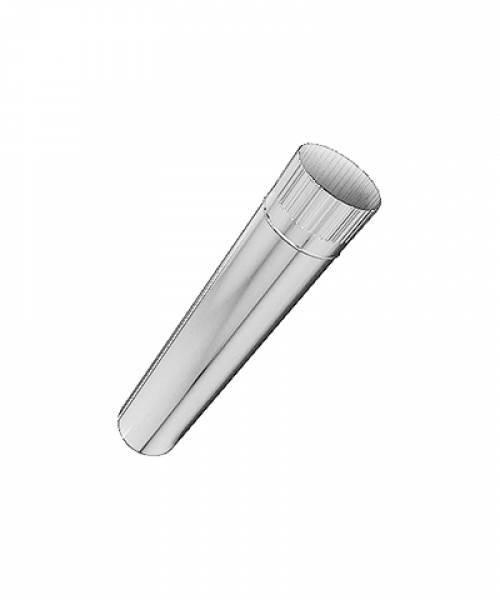Труба одностенная 0,5 мм, d - 100, L=300 мм