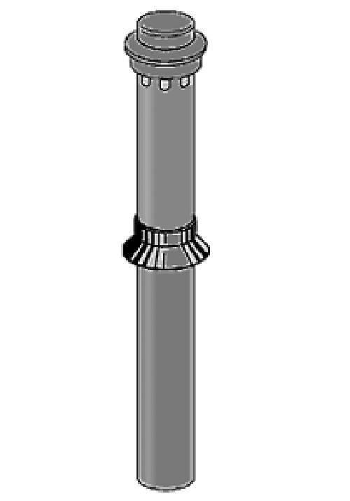 Вентиляционная труба (башенка) 110/720