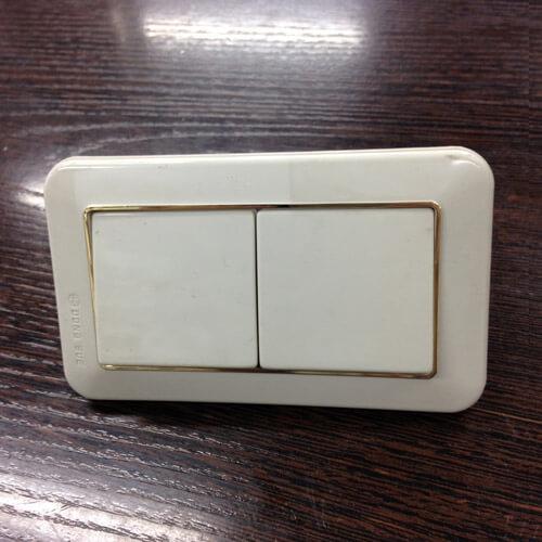 Выключатель, 2 клавиши, 920512