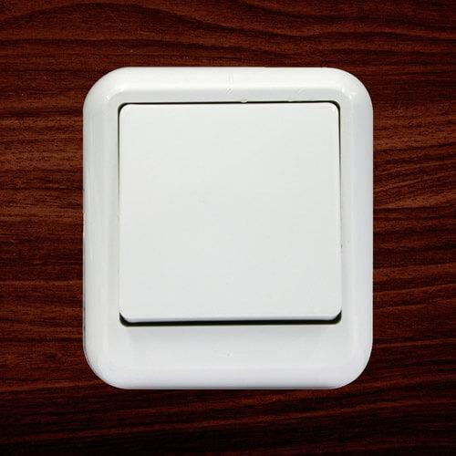 """Выключатель """"Прима"""" А16-051М, 1 клавиша"""