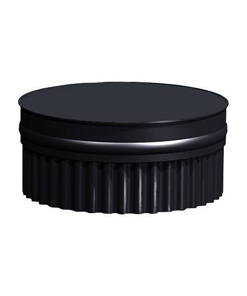 Заглушка П глухая, эмалированная 0,8 мм, d 210 мм