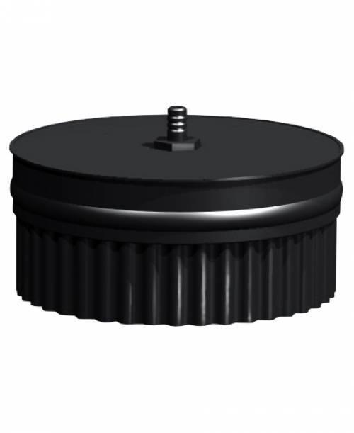 Заглушка с конденсатоотводом П, эмалированная 0,8 мм, d 200 мм